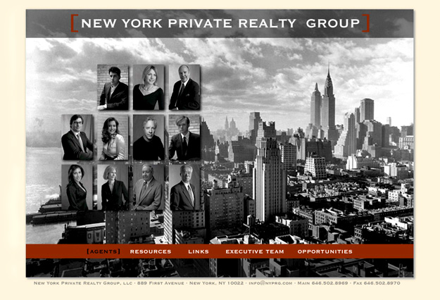 New York Private Realty Group Web, Tronvig Group