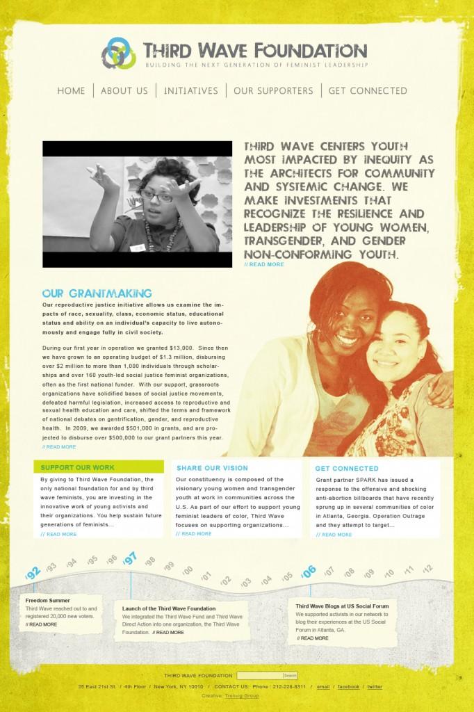Third Wave Foundation Website