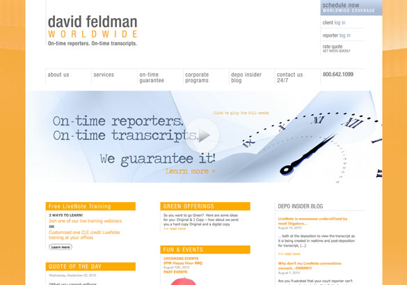 David Feldman Worldwide Website