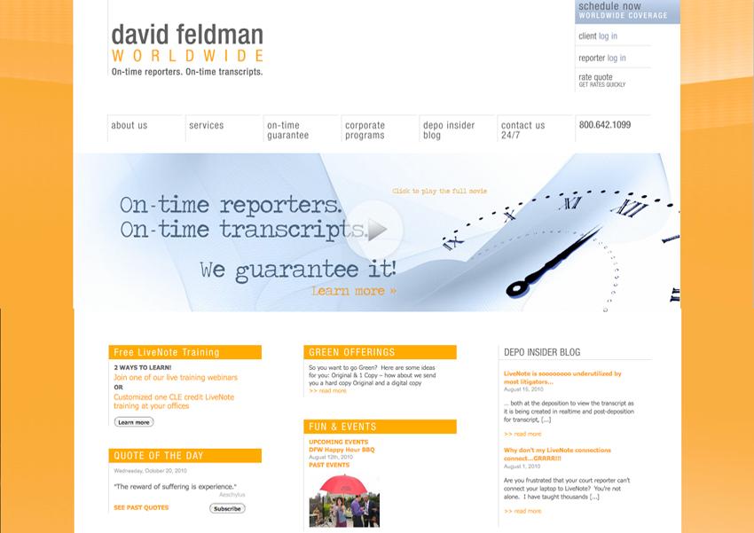 Too Many Brand Messages: David Feldman Worldwide, Tronvig Group