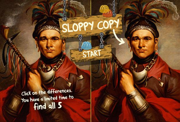 Sloppy Copy, museum game, Tronvig Group