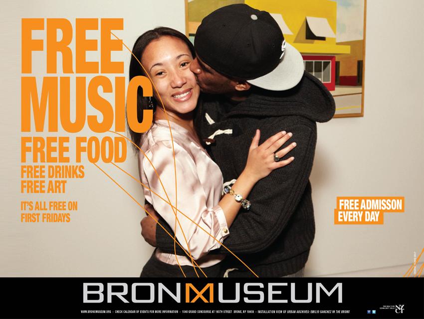 Advertising in the Facebook Age: Bronx Museum Free Campaign, Tronvig Group