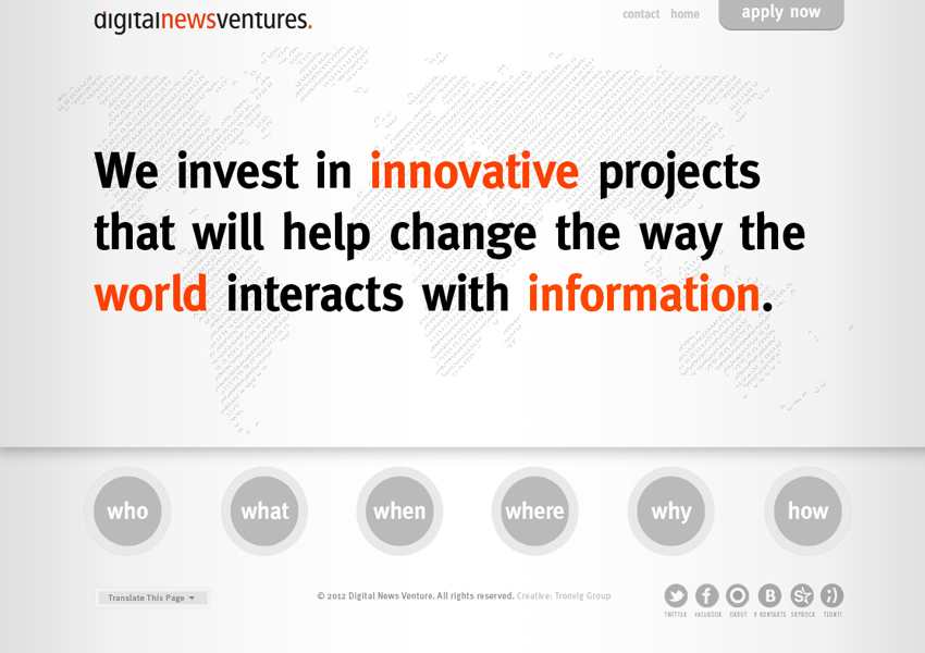 Digital News Ventures, Tronvig Group