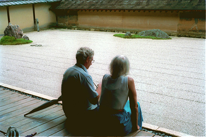 Dale and Jane Heaton in Kyoto