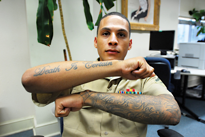 Tattoo Brand US Army Tattoo