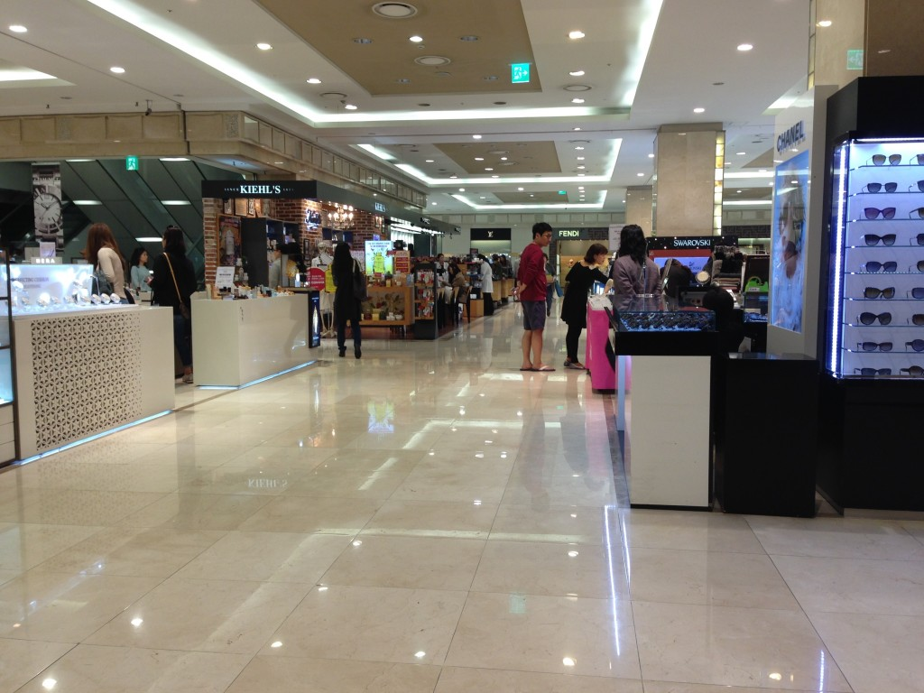 too many choices at hyundai department store