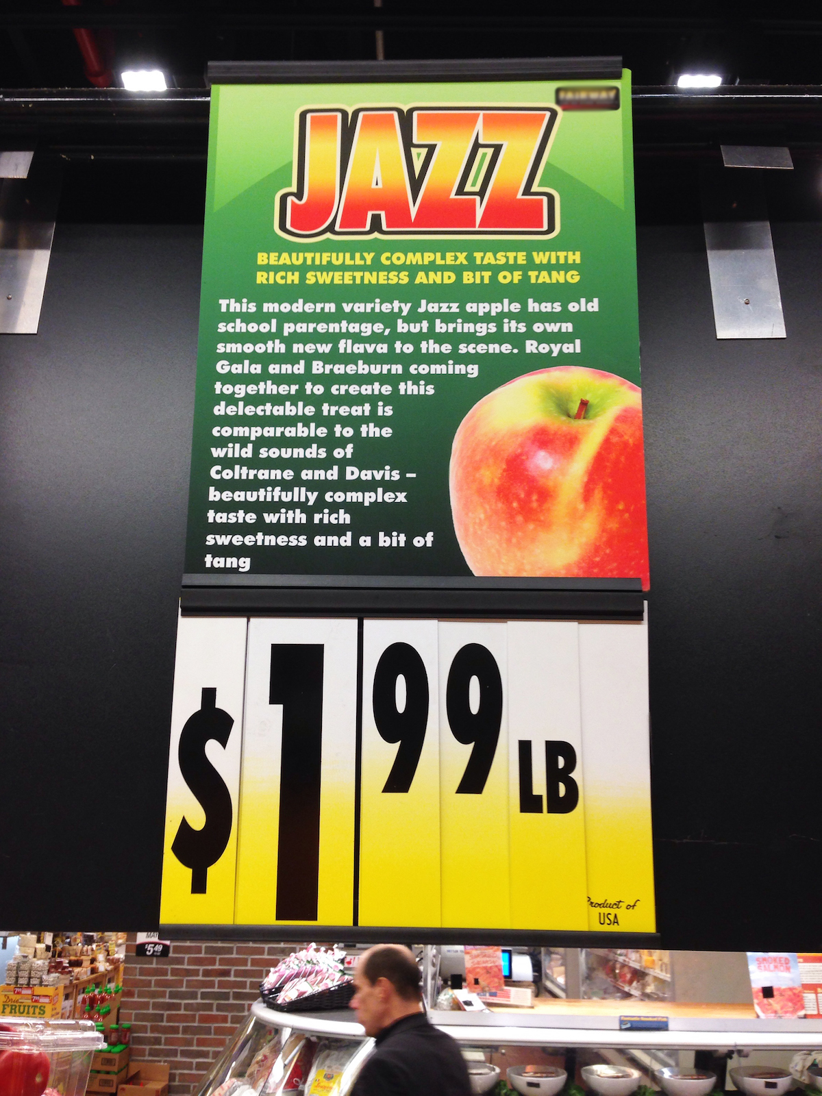 jazz in marketing, jazz apples