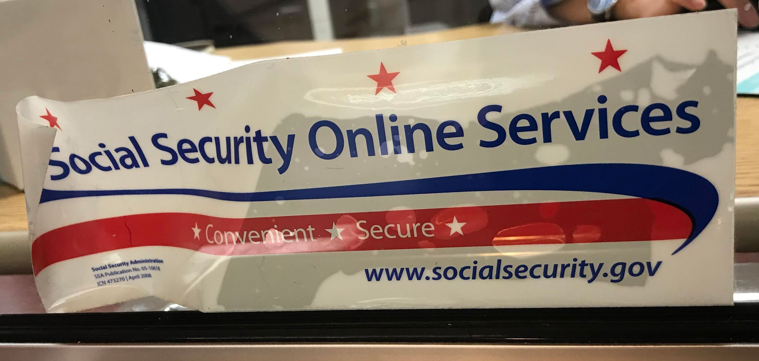 Dear Social Security Administration  Troubles signing on the
