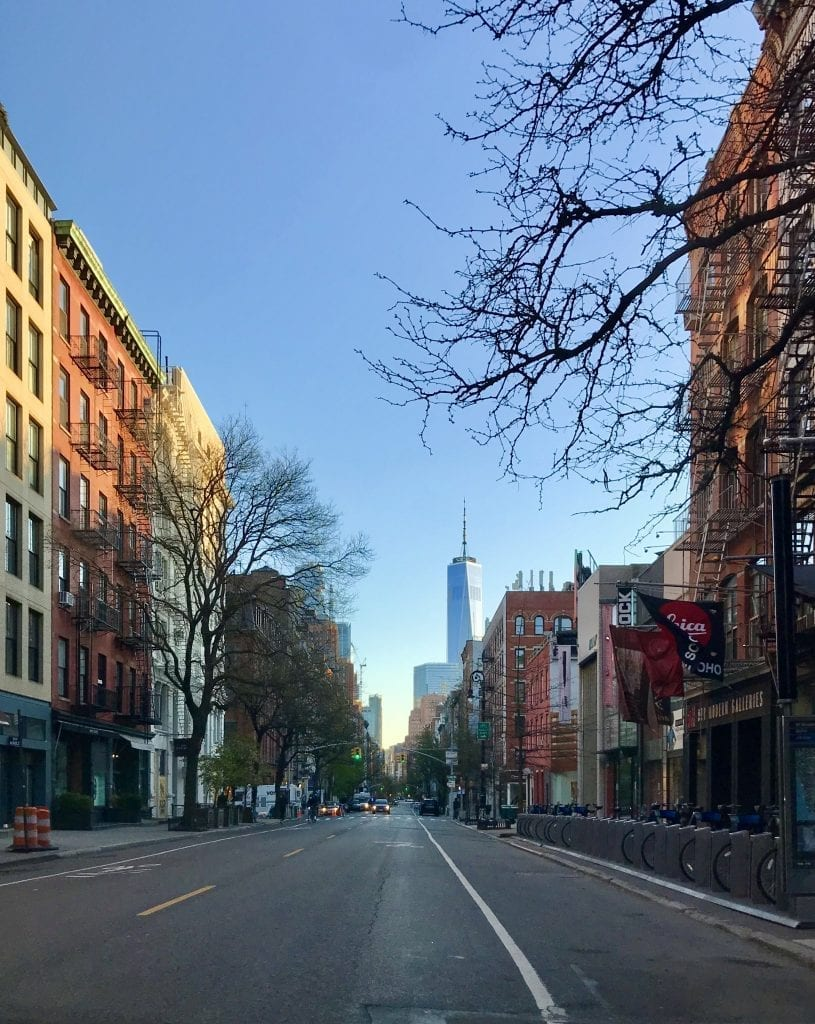 My New York Today West Broadway COVID-19